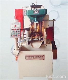 气压式双轴攻丝机  能耗低  省人工