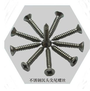 进口304不锈钢螺丝 高防腐性螺丝 沉头自攻螺丝钉,防锈螺钉