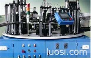 LED灯具自动点胶锁螺丝机/宁波攀高自动化定做灯座自动组装机