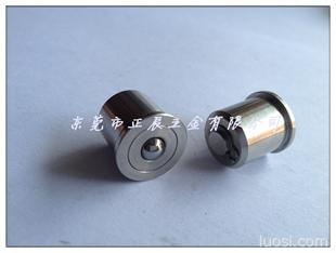 压入型带柱塞功能钢珠滚轮BCHP