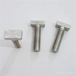不锈钢螺栓规格_t型螺栓 不锈钢t型螺栓 厂家定制各种规格的不锈钢t型