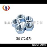 新标螺母 新国标螺母尺寸 GB6170螺母