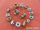 供应304不锈钢卡式螺母、优质65Mn钢卡式螺母、浮动螺母、机柜机箱专用螺母、电梯专用螺母