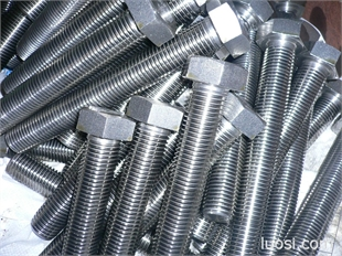 不锈钢304 316外六角头螺栓GB5783