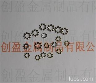 供应不锈钢外齿介子 SUS304不锈钢外齿垫圈