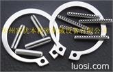 SUS304锁紧扣环 进口不锈钢锁紧挡圈 日本JIS规格扣环