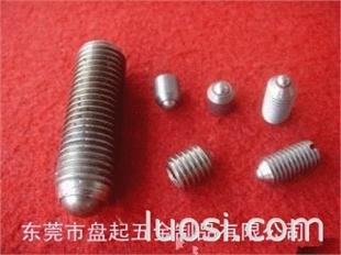 不锈钢内六角波珠螺钉,尖端止付螺丝