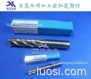 东莞代理商批发韩国UTOOL高速钢铣刀 加长铣刀 两/四刃不锈钢锣刀