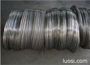 镀草酸不锈钢螺丝线 304镀草酸螺丝线材