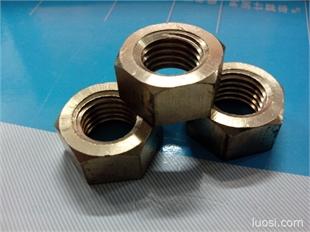 批发大连六角铜螺母  六角高强度螺帽  焊接螺母 加工各种异型螺母M6-M100