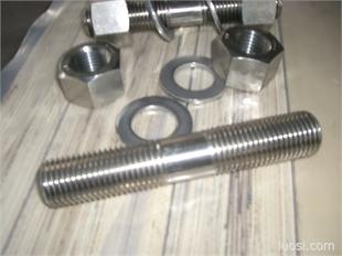 不锈钢GB900双头螺柱 牙长=2d 双头螺杆