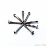 热销高质量十字盘头机牙螺丝;不锈钢螺丝 PM2*16