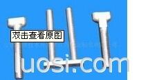 8.8级10.9级T型槽用螺丝 达克罗T型螺栓 GB37