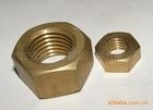 温州工廠專業生產六角銅螺母1000只批订。