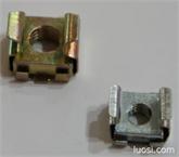 卡式螺母 65MN外壳+冲压四方螺母 机柜螺母 浮动螺母