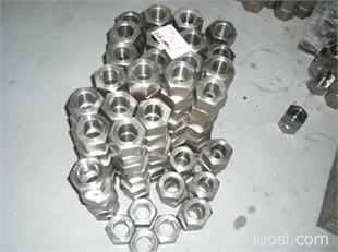 不锈钢A2-70 A4-80六角螺母 ISO4717六角螺母