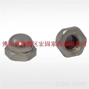 镀锌 六角螺母 自锁螺帽 盖母 紧固件