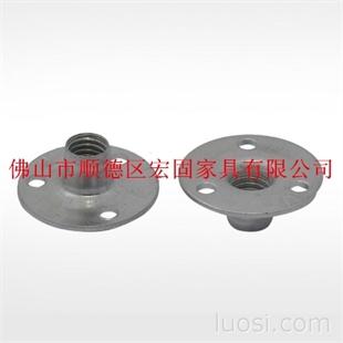 T形螺母 可焊接元母 三孔螺帽 预埋件 家具五金紧固件
