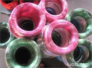 6063彩色铝线 工艺品用铝线 彩色铝合金线生产厂家