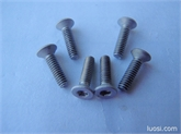 厂家直销,优质供应:高强度、耐高温、耐腐蚀、钛及钛合金内六角螺丝