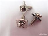 厂家直销,优质供应:十字槽盘头弹垫平垫组合螺丝、十字盘头四方垫组合螺丝