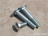 生产半圆头方颈螺栓GB12 马车螺栓 马车螺丝