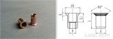 沉头圆柱铆螺母(近似于GB/T17880.2)