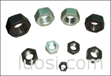 碳钢、不锈钢六角螺母