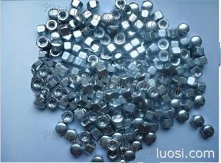 普碳钢DIN917, 蓝白锌DIN917盖形螺母, 盲孔盖型螺帽