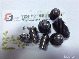 专业销售优质不锈钢/合金钢波珠螺丝、钢珠紧定螺丝、波珠紧定螺丝