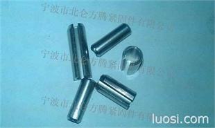 不锈钢304材质GB879弹性圆柱销订做, 双倒角重型轻型弹性销按图加工