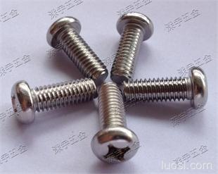 供应不锈钢M2系列超长机牙螺丝