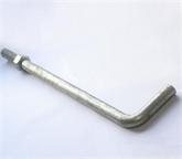 现货供应地脚丝、北京地脚螺栓、异型地脚螺栓