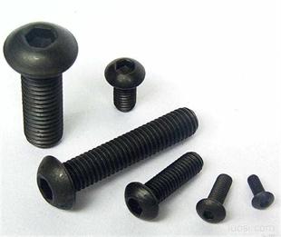 GB70圆柱头内六角螺钉8.8级12.9级合金钢内六角螺栓 高强内六角