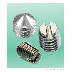 一字内六角机米螺丝/一字尖端机米螺丝/一字平端机米螺丝