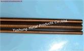 硅青铜全牙螺杆M8 * 1米