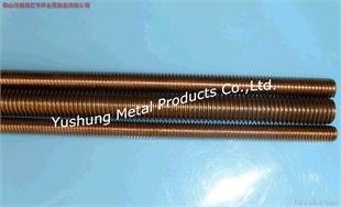 硅青铜全牙螺杆M12 * 1米