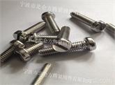 专业生产带槽螺钉, 国标GB65开槽圆柱头螺丝, GB67一字槽盘头螺钉制造商