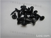 高强度黑色磷化干壁钉, 十字槽喇叭头细牙干壁钉, 墙板钉, 粗牙干壁钉