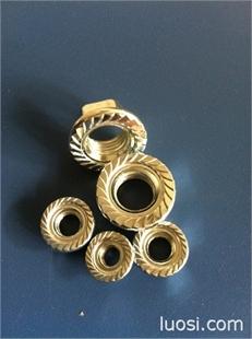法兰螺母GB6177