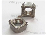 正宗不锈钢304四方焊接螺母, 德制DIN928-A型标准生产, 库存销售