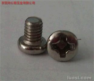 盘头螺丝 圆头螺丝 Pan head screw