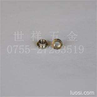 价格实惠、大批现货微型紧固件自锁螺母FEO-M3