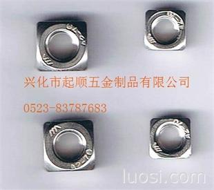 供应不锈钢201 304方螺母DIN557  供货及时 价格合理