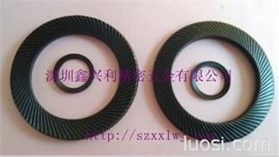 供应 安全齿面垫圈 防滑垫圈 规格全 深圳厂家