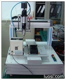 生产桌面型手机自动锁螺丝机设备厂家-山友自动化