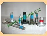 蓝色涂胶 螺丝 螺杆 螺母 非标零件上胶加工 蓝色防滑胶  温州螺丝厂