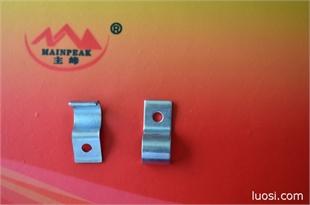 冲压件 非标件 管夹 厂家承接各种冲压件加工 可来图加工定制