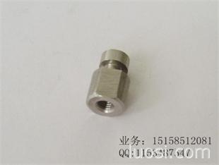 汽车排气管螺母温州三诚定做各种不锈钢非标件