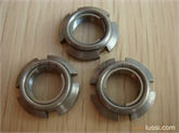 供应AN01进口全金属钢片自锁圆螺母M12*1.0